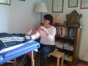 Margherita Cosani trattamento riflessologia