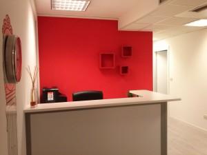 Sala d'aspetto della sede di Udine