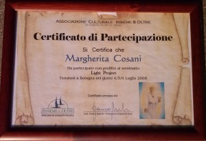 Certificato Light Project