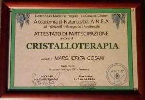 Diploma cristalloterapia