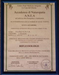Diploma riflessologia